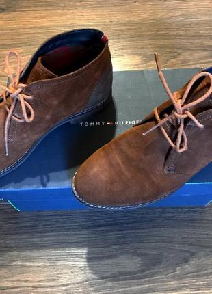 Стильные женские ботинки от tommy hilfiger