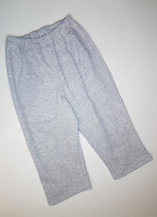 Детские штанишки с начесом двухнитка