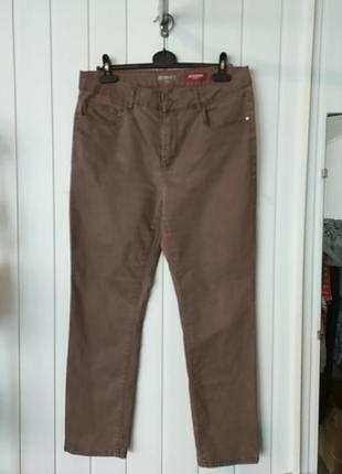 Плотные коттоновые брюки zermatt stooker women slim fit