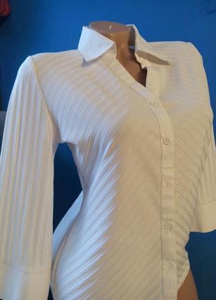 Белая блузка школа,офис