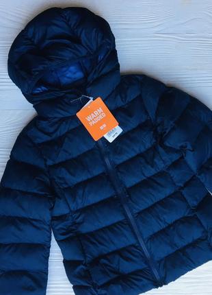Детская куртка uniqlo, размер 5-6