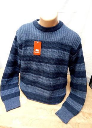 Зимний красивый свитер. батал. турция