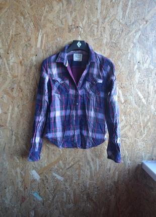 Рубашка в клетку сolins (s/m)
