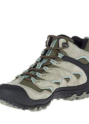 Ботинки унисекс  merrell chameleon 7 dry limit mid waterproof оригинал!!!