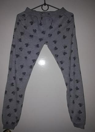 Теплые штаны 7/11лет.