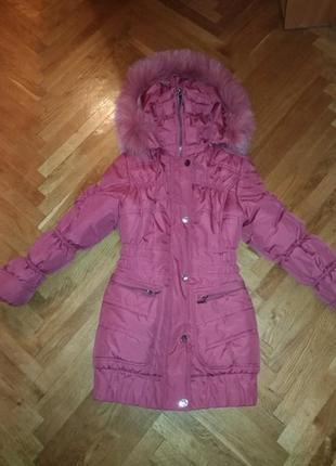 Куртка nui very модель злата девочке 7-10 лет