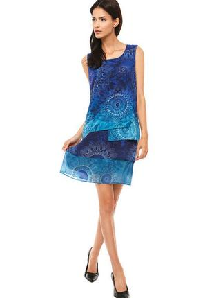 Невероятно красивое воздушное платье от испанского бренда desigual
