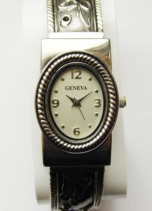 Geneva часы браслет из сша japan movt water resistant