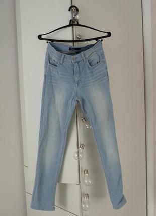 Скини с высокой посадкой angels jeans