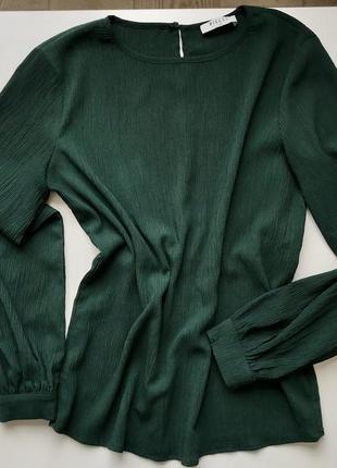 Блуза изумрудная pieces