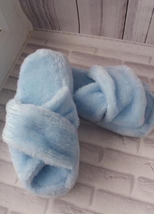 Тапочки женские меховый тапки для дома жіночі