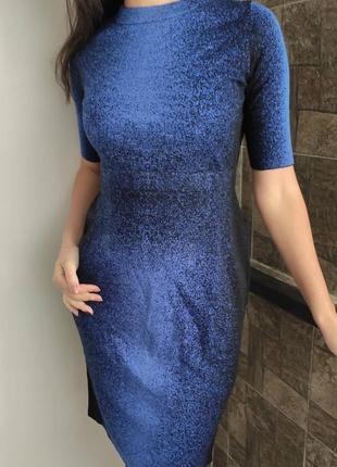 Теплое шерстяное платье cos