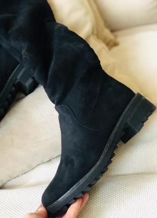 Зимние ботфорты/красивенные/наложка2 фото