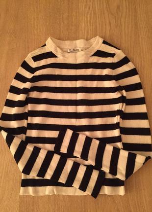 Укороченый свитер джемпер топ pull&bear