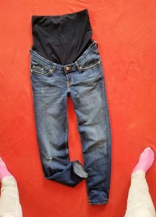 Новые джинсы бойфренды для беременных h&m 32