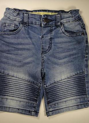 Джинсовые шорты denim co 4-5 лет, 110 см