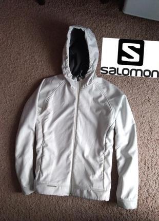 Ветровка куртка salomon m ( softshell ) соломон трекинг туризм