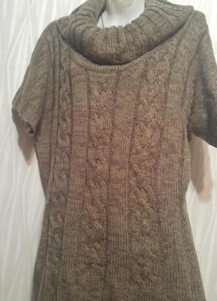 Теплый свитер- туника