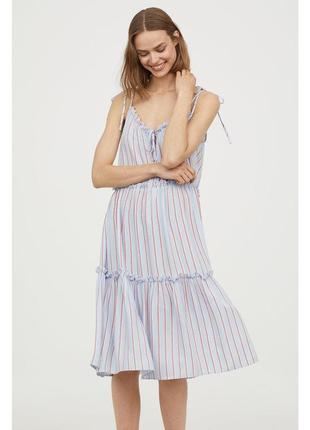 H&m платье на бретелях, l-xl