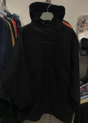 Новенький шерстяный оверсайз анорак курточка h&m