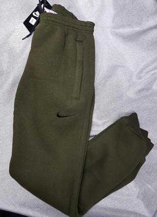 Штаны спортивные брюки мужские теплые осень зима на флисе