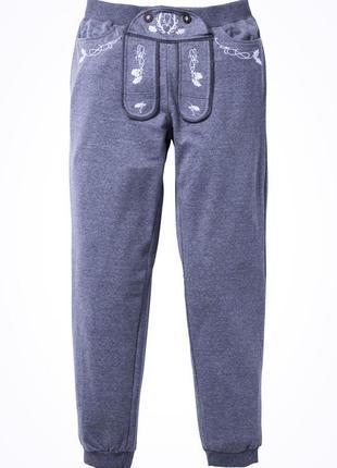 """Трикотажні спортивні штани в стилі """" оktoberfest"""" . ( утеплені ) акційна вартість !!!"""