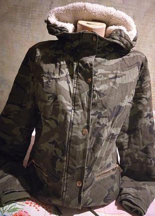 Куртка милитари new look