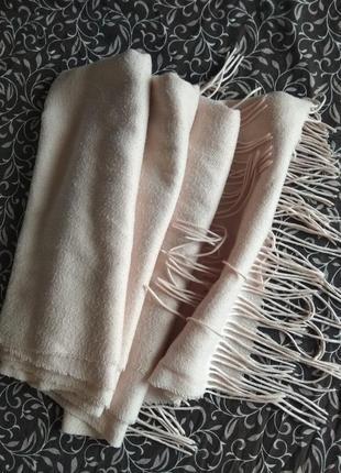 Шарф широкий шарф длинный теплый базовый зима осень