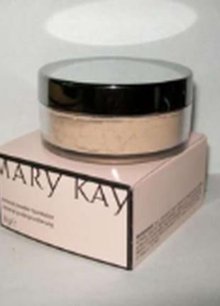 Минеральная рассыпчатая пудра mary kay слоновая кость 2 (натуральный)