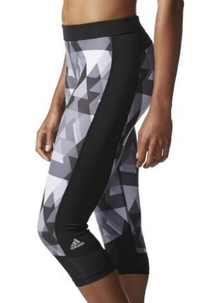 Лосины леггинсы бриджи капри adidas