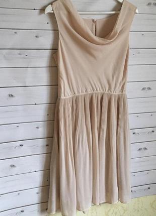 Красивое платье коктейльное zara