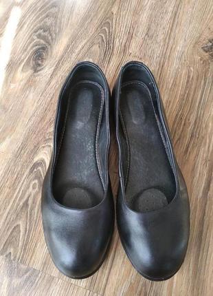 Очень стильные, из натуральной кожи туфли