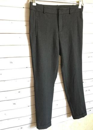 Шерстяные классические брюки zara