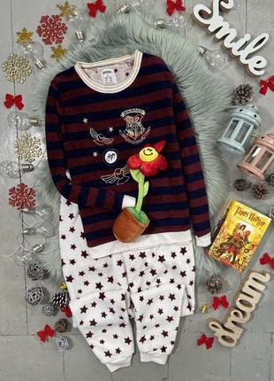 Теплая флисовая пижама гарри поттер №43