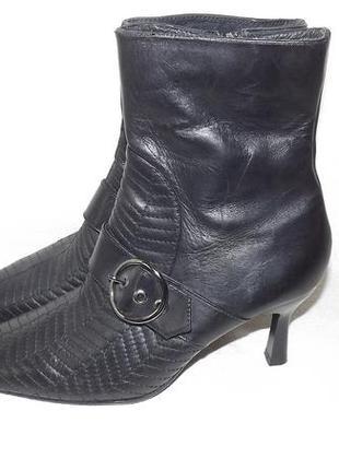 Ботинки кожа leidilui