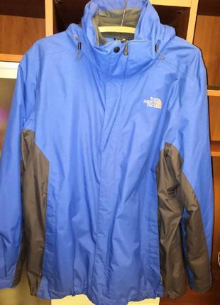 Куртка ветровка the north face hyvent с родным подкладом