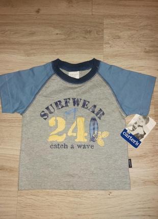 Carter's фірмова футболка для хлопчика 12-18 місяців