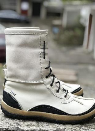 Оригинальные кожаные зимние тёплые ботинки merrell waterproof