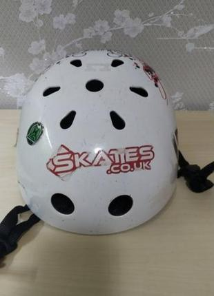 Шлем cre8.(halfords) вело, скейт, ролики, самокат, bmx.