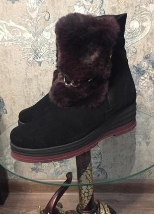 Original trend сапоги зимние женские