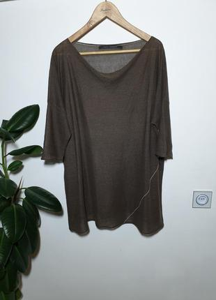 Льняной топ, футболка, туника elemente clemente