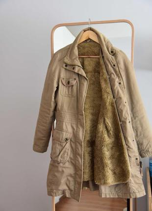 Orsay парка куртка зимняя тренч с подстежкой пальто