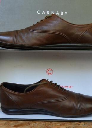 Элегантные туфли-мокасины-оксфорды итальянского бренда carnaby