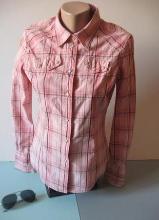 Прикольная клетчатая рубашка - в ковбойском стиле!