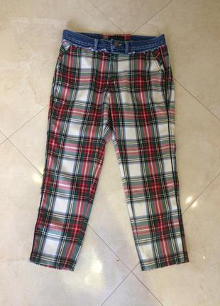 Супер стильные укороченные джинсы rossodisera