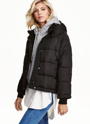 Куртка h&m утепленная размер xs, m