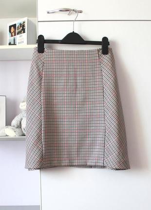 Стильная клетчатая юбка от new look