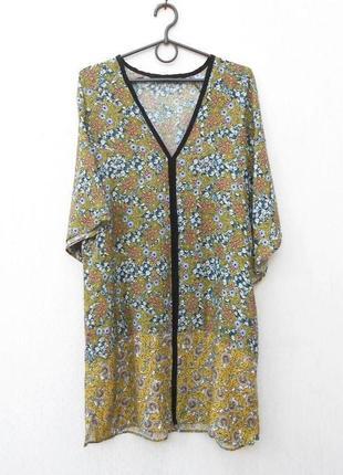 Легкое свободное летнее платье из вискозы 🌿
