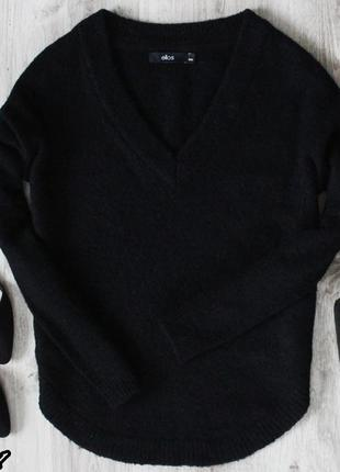 Чёрный свитер свитер ellos