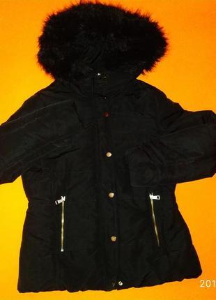 Продам женскую демисезонную куртку на синтепоне h&m